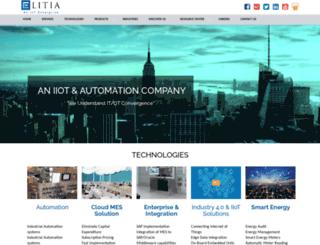 elitiatech.com screenshot