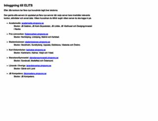 elits.pingpong.se screenshot