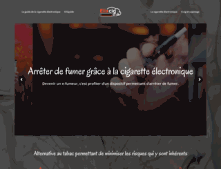 elixcig.fr screenshot