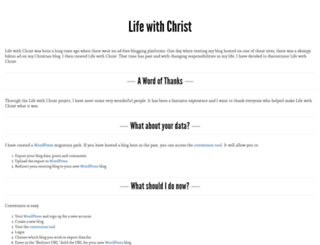 elixir.lifewithchrist.org screenshot