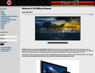 elixirxes3d.com screenshot