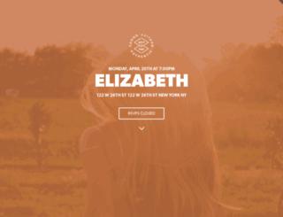 elizabeth-theme.splashthat.com screenshot