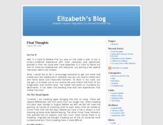 elizabeth.dintersmith.org screenshot