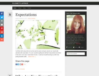 elizabethlaprade.com screenshot