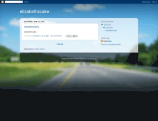 elizabethscake.blogspot.com screenshot