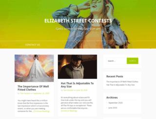 elizabethstreetcontests.com screenshot