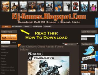elj-games.blogspot.in screenshot