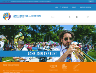 eljazzfest.com screenshot