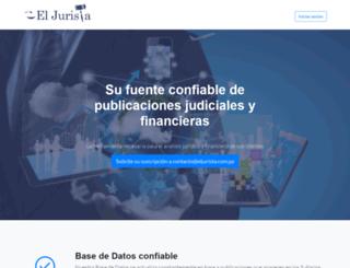 eljurista.com.py screenshot