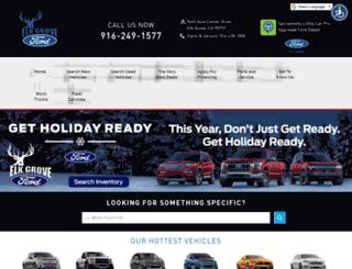 elkgroveford.com screenshot