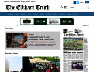 elkharttruth.com screenshot