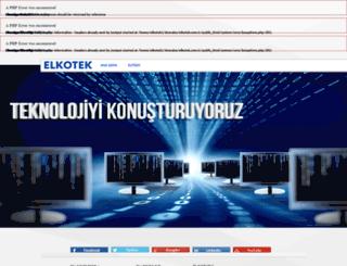 elkotek.com.tr screenshot