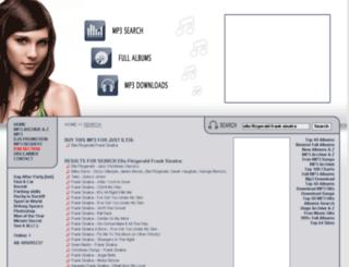 ella-fitzgerald-frank-sinatra.e-mp3s.eu screenshot