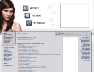 ella-fitzgerald-louis-armstrong.e-mp3s.eu screenshot