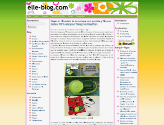 elle-blog.com screenshot