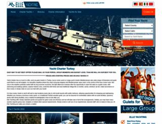 elle-yachting.com screenshot