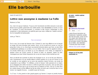 ellebarbouille.blogspot.ca screenshot