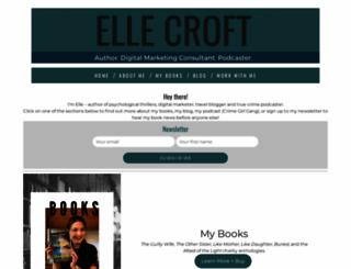 ellecroft.com screenshot
