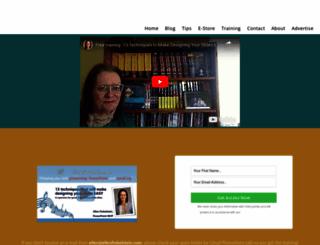 ellenfinkelstein.com screenshot