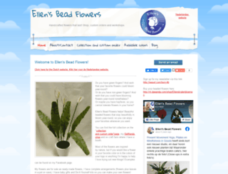 ellensbeadflowers.webs.com screenshot