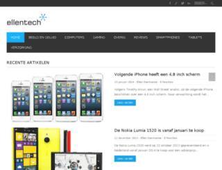ellentech.nl screenshot