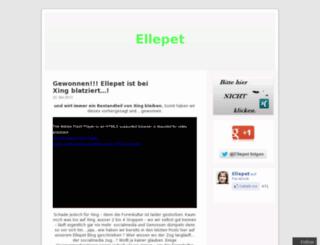 ellepet.wordpress.com screenshot