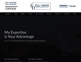ellidavis.com screenshot