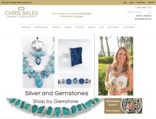 elligatorssilverjewelry.com screenshot