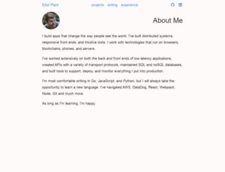 elliotplant.com screenshot