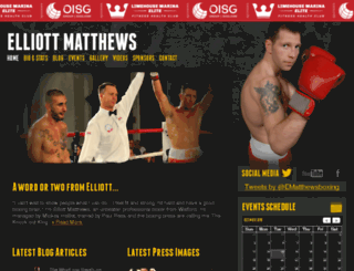 elliott-matthews.com screenshot