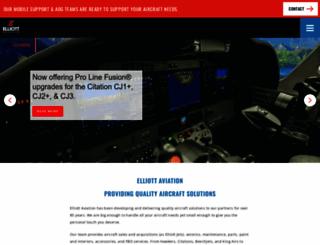 elliottaviation.com screenshot