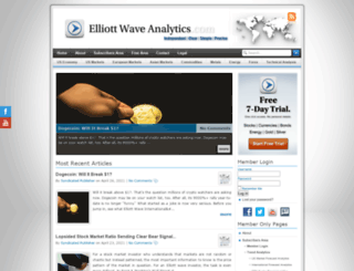 elliottwaveanalytics.com screenshot