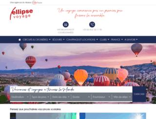 ellipse-voyage.com screenshot