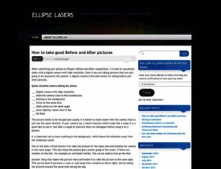 ellipselasers.wordpress.com screenshot