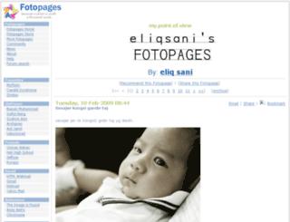 ellique.fotopages.com screenshot