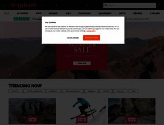 ellis-brigham.com screenshot