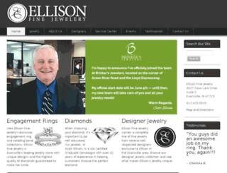 ellisonfinejewelry.com screenshot