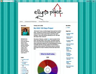 ellynsplace.blogspot.sk screenshot