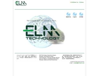 elm-tech.com screenshot