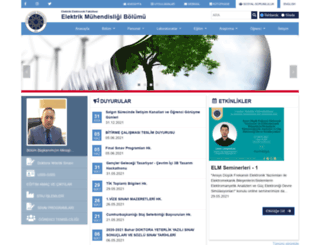 elm.yildiz.edu.tr screenshot