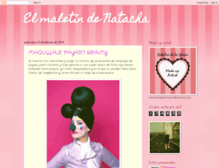 elmaletindenatacha.blogspot.mx screenshot