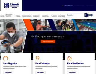 elmarques.gob.mx screenshot