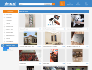 elmazad.com screenshot