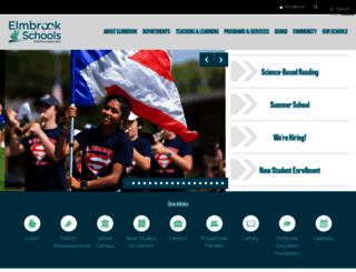 elmbrookschools.org screenshot