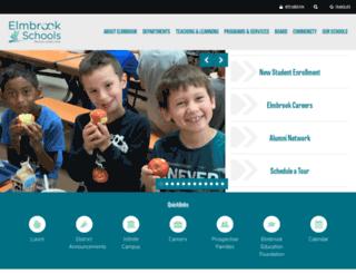 elmbrookschoolsorg.finalsite.com screenshot