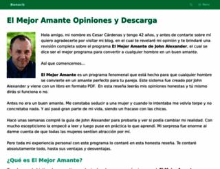 elmejoramante.bonocb.com screenshot