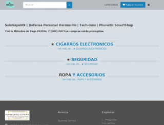 elmercado.com.mx screenshot