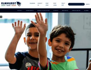 elmhurst205.org screenshot