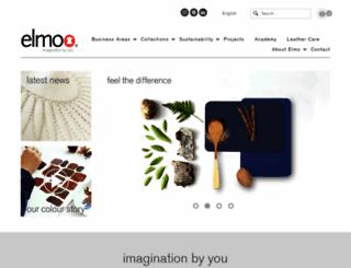 elmoleather.com screenshot