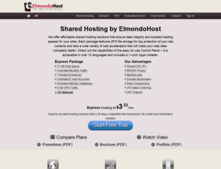 elmondohost.net screenshot